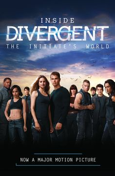 """""""Inside Divergent The Initate's World"""" by Cecila Bernard (my thanks goes the UK publisher, HarperCollins, for review copy)"""