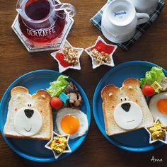 Bear toast by Anna (@nariselu_)