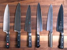There are some tasks in the kitchen area which, if performed routinely, warrant having a special knife for the job. However, there are 3 knives that will most likely see the most wear and tear; a chef's knife, a paring knife and a serrated knife.