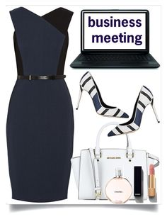 """""""business meeting"""" by teto000 ❤ liked on Polyvore featuring Jason Wu, Dolce&Gabbana, MICHAEL Michael Kors, Chanel and businessmeeting"""
