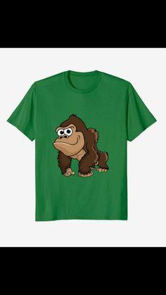 Shirt Sale, T Shirt, Lucky Blue, Cute Monkey, Cute Tshirts, Growing Up, Super Cute, Lovers, Gift Ideas