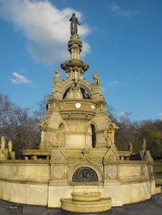 Fountain in Kelvingrove Park Glasgow, Statue Of Liberty, Fountain, To Go, Park, City, Places, Travel, Statue Of Liberty Facts