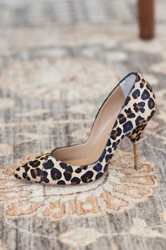 VHeel Pump - Leopard | Emerson Fry