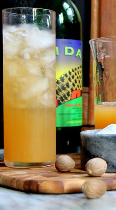 Friday Sipping: The Oaxaca Campfire cocktail recipe with mezcal, ginger beer, and apple cider | Scotch and Nonsense