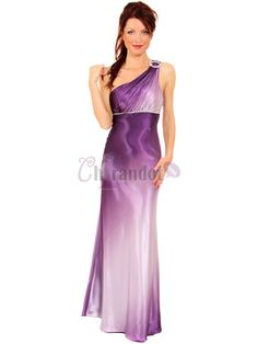 Unique Sleeveless A-line Floor Length Pleated Prom Dress - $179.99