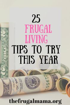 Frugal Living Tips Money Saving Tips