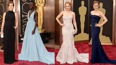 Beautiful Women at the 2014 Oscar