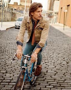 Missing cycling back home. Nikolaj Coster-Waldau.