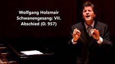 """Wolfgang Holzmair: The complete """"Schwanengesang D. 957"""" (Schubert)"""