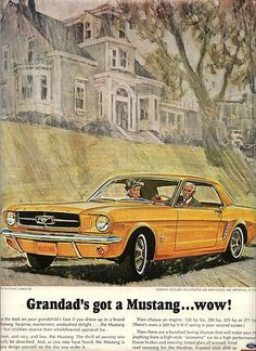 Classic Mustang Ad