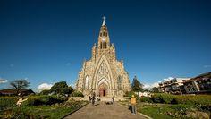 Catedral de Pedra. Catedral Nossa Senhora de Lourdes. Canela. Crédito: Divulgação /Embratur