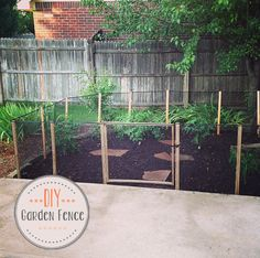 DIY // How to make a Garden Fence