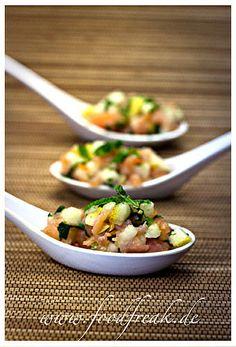 Blog-Event XLVII – Asia-Lachstartar mit Birne – Foodfreak