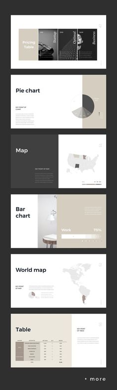 Simple Presentation Template #keynote #presentation #simple #minimal #portfolio #business #marketing