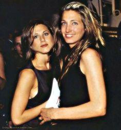 Jennifer Anniston with Carolyn Bessette-Kennedy