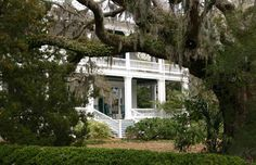 Beaufort, SC. Oh how I miss these big beautiful old  homes with such history.