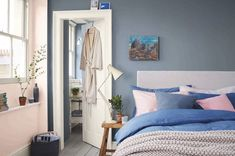 Calming paint shades that help reduce stress