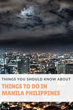 Manila Philippines is an interesting places to visit. This travel guide includes the best places to visit in Manila, the top things to do in Manila | Fun Things To Do in Manila | Things To Do Manila Philippines