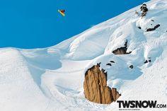 Mark Sollors stoking on airtime. PHOTO: Adam Moran  |  TransWorld SNOWboarding