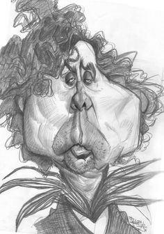 Pablo Pino - Dibujo 7: Tim Burton #7TimBurton