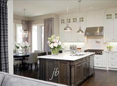 #whitekitchen  Stylish White Kitchen
