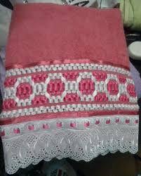 Resultado de imagen para toalhas de trançado de fitas