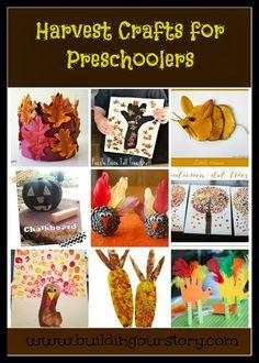 Harvest Crafts for Preschoolers