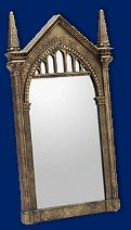 The mirror of Erised (a.k.a Desire) from Think Geek.