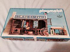 PLAYMOBIL 3430 BLACKSMITH HERRERIA DEL OESTE WESTERN DESCATALOGADA MUY DIFICIL DE CONSEGUIR!!