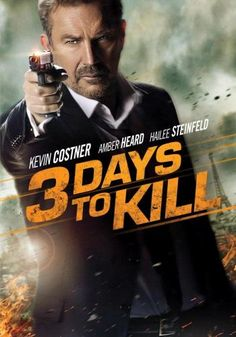 3 Days To Kill, Movie on BluRay, Action Movies, Suspense Movies, even more movies, even more movies on Blu-ray