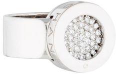 Chanel Diamond Pavé Circle Ring