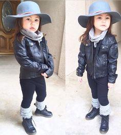 More fashionable than you or nah ? Little Kid Fashion, Baby Girl Fashion, Toddler Fashion, Kids Fashion, Baby Swag, Kid Swag, Junior Fashion, Baby Couture, Kids Wardrobe