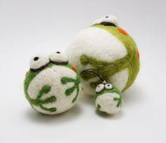 Mini Frog - Woolbuddy | Woolbuddy | Maigo