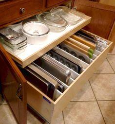 30+ Best Diy Kitchen Storage Organization Ideas Ikea Kitchen Pantry, Organizing Kitchen Cabinets, Kitchen Counter Storage, Order Kitchen, Kitchen Reno, Kitchen Pull Out Drawers, Kitchen Cupboards, Kitchen Hacks, Kitchen On A Budget