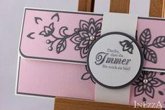 Danksagung - Geschenkverpackung für Konzertkarte AugustWolke - ein Designerstück von Inezza-Geschenke bei DaWanda