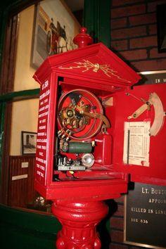 Buffalo Fire Historic Musem - fire box
