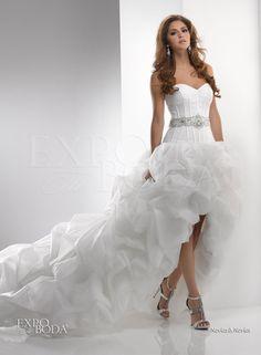 Ah!! algo asi sera el mio... Vestidos de novia, marcando tendencia en Expo Tu Boda - Expo Tu Boda