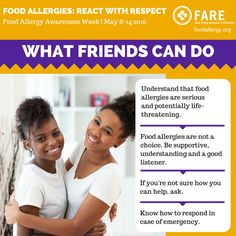 2016 Food Allergy Awareness Week - Spread the Word - Food Allergy Research & Education