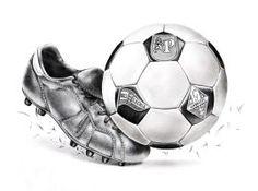 Football Fan by on DeviantArt Tattoo Futbol, Soccer Tattoos, Sport Tattoos, Old Football Boots, Football Art, Cr7 Football, Retro Football, Marcelo Tattoo, Soccer Pro