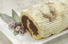 Bûche de Noel - when I worked at The French Gourmet in San Diego, the bakery made these at Christmas.  So good!  Maybe I'll have to try this recipe myself!