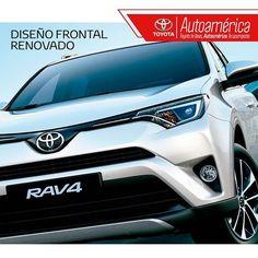 ¿Has visto la imagen frontal renovada de la #Toyota #Rav4? Sus faros delanteros son aerodinámicos y su tecnología led ofrece mayor seguridad en carretera gracias a su potencia. ¡La #Rav4 tiene muchos detalles que te encantarán!  .