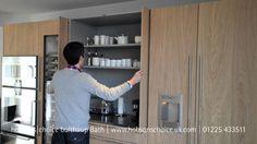bulthaup b3 kitchen pocket door