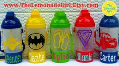 BPA FREE Personalized Pop Up Straw Sippy Cup by TheLemonadeGirl, $8.00