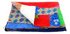 #NayaBlockPrintQuilt  #IndianBlockPrintFabric #kanthathrow kantha throw /kantha quilts /BY #CraftsOfGujarat #craftnfashion #meghcraft #indianethnicjewelry
