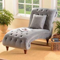Tufted Velvet Chaise Lounger | Kirklands $500+$70