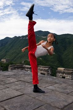 Karate Kid with Jaden Smith