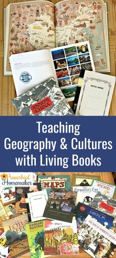 Teaching Geography and Cultures with Living Books using the Around the World with Picture Books from Beautiful Feet Books!