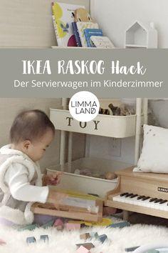 Ein IKEA RASKOG Hack! Der Servierwagen RASKOG Von IKEA Kann Ach Im  Kinderzimmer Perfekt Eingesetzt