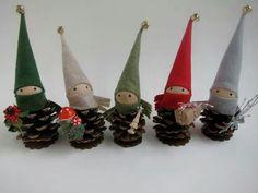 Elf pine cones
