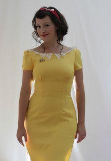 Julia Bobbin, Butterick 5603, lace collar, wool crepe